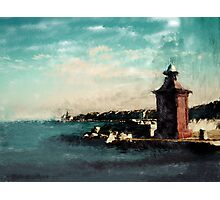 Port of Piran Photographic Print