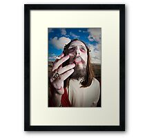 Brighton Zombie Walk  Framed Print