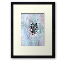Illusive by Nature (blue) Framed Print