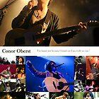 Conor Oberst Collage by nienasyconyglod