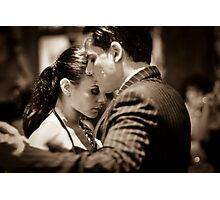 Passionate tango Photographic Print