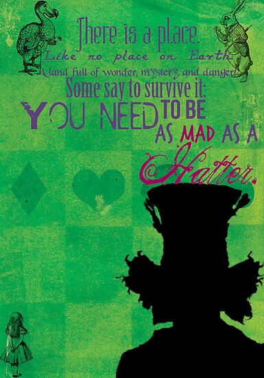 The Mad Hatter by Konoko479