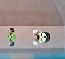 reflections of photographers 1 by peterhau