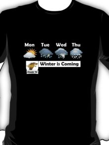 Winter is Coming - Stark TV T-Shirt