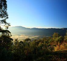 Sullivan's Lookout near Mt Beauty - Victoria by OzNatureshots