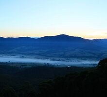 Tawonga Gap near Mt Beauty - Victorian High Country by OzNatureshots