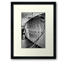 SOS - Save Our Ship Framed Print