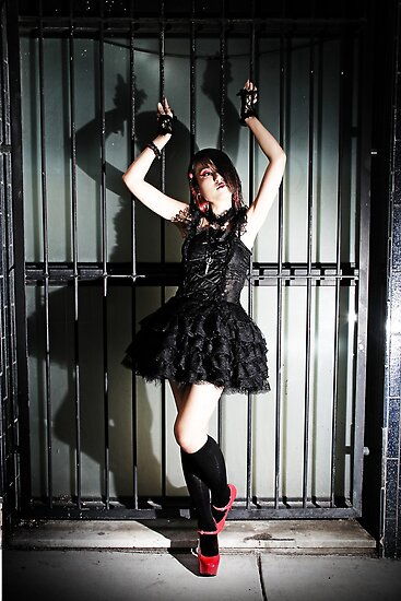 Goth City Lolita by tidalcreations