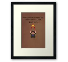The Legend of Jayne Framed Print