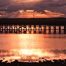 Sun-setting in Amble by Elaine123