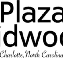 Plaza Midwood, Charlotte, North Carolina Sticker