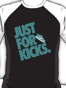 Just for kicks-Aqua T-Shirt
