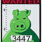 Wanted Piggy by manikx