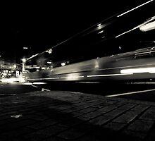 London at night - Trafalgar Square by JurgitaKorsaka