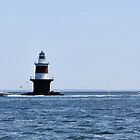 "Peck's Ledge Lighthouse by Christine ""Xine"" Segalas"