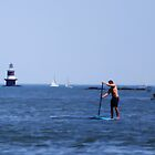 "Paddleboarding by Christine ""Xine"" Segalas"
