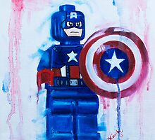 Captain America by Deborah Cauchi