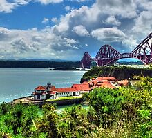 Across the Forth by Steve Falla
