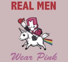Castle Crashers: Real Men Wear Pink  by justinmcc
