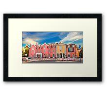 Cascais village Framed Print