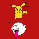 Pika-Boo by Bradalee