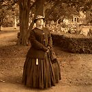 Julia Boggs Dent Grant - Re-enactor Player at Ringwood Manor by Jane Neill-Hancock
