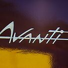 1964 Studebaker Avanti Emblem by Jill Reger