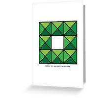 Design 132 Greeting Card