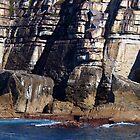 Coastal Cliffs by geophotographic
