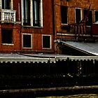 restaurant on Venice canal by KSKphotography