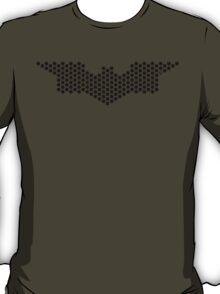 Hexgrid Bat (Black) T-Shirt