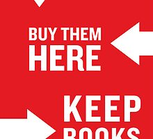Keep Books Here by IndieBound