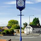Millennium Clock, Hilton, Derbyshire  by Rod Johnson