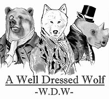 A Well Dressed Wolf & Company by Miln3r