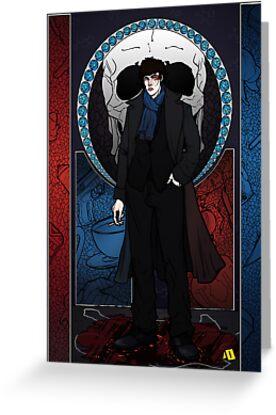 Sherlock Nouveau: Macabre Sherlock Holmes by Rebecca -