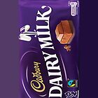 dairy milk iphone by iPhonely