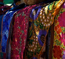 Colorful Fabrics by thvisions