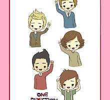 1D Cute Cartoon iPhone/iPod Case by dream--catch3r
