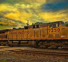 Union Pacific Coal Train, Osawatomie, Kansas by TeeMack