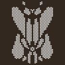 Hexgrid Rorschach (White) by Eozen