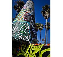 Graffiti Filled Photographic Print