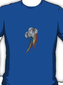 Rainbow Dash Grunge Cutie Mark Tshirt T-Shirt