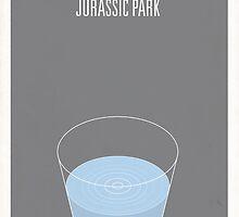 Jurassic Park minimalist poster by Hunter Langston