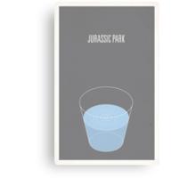 Jurassic Park minimalist poster Canvas Print