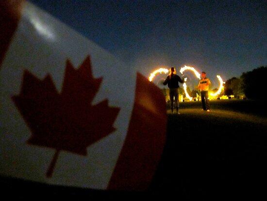 Canada Day celebrations - Canadian pride by MarianBendeth