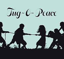 Tug-O-Peace by ligaturedesign