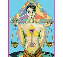 Astrology - tarot. Libra - Justice by didielicious