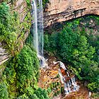 Katoomba Upper Falls by Chris  Randall