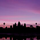 Angkor Sunrise by Dr Kev Robinson