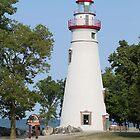 Light House @ Marblehead Ohio by G. Cobble